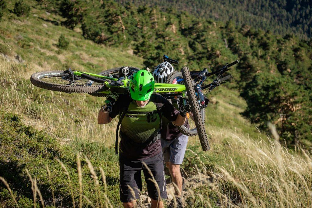 Rutas guiadas cicloalpinismo